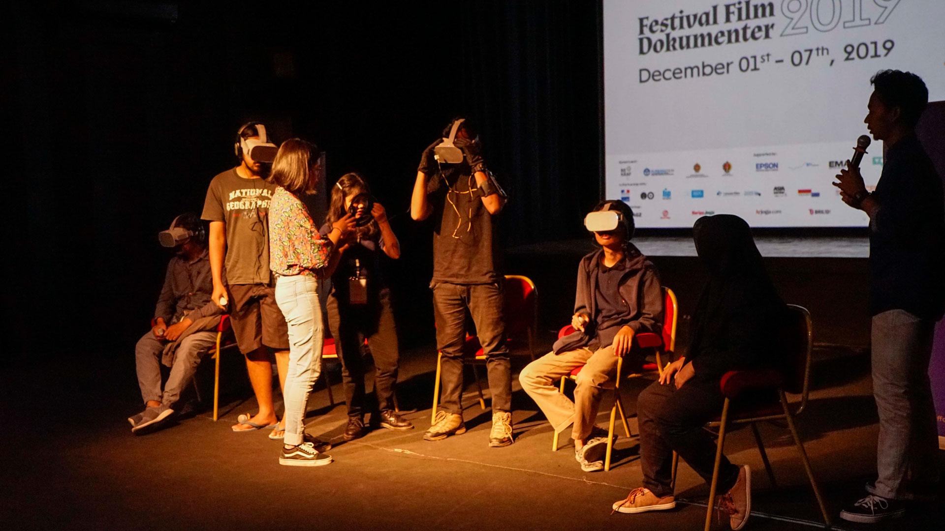 DocTalk FFD 2020, Voice: Virtual Reality, Lintas Medium dan Dampak Baru Dokumenter