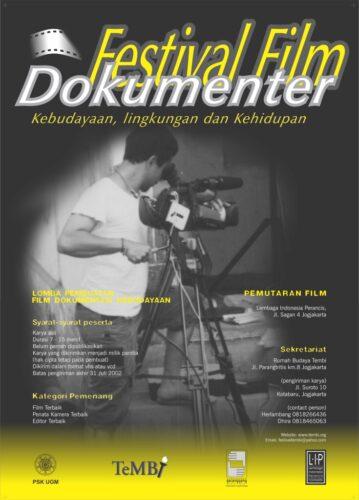 Poster Festival Film Dokumenter 2002