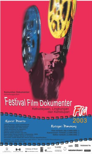 Poster Festival Film Dokumenter 2003