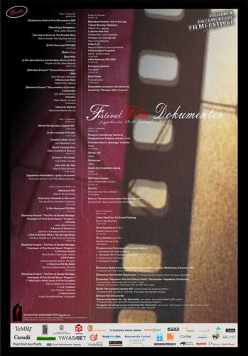 Poster Festival Film Dokumenter 2004