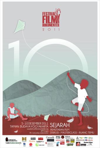 Poster Festival Film Dokumenter 2011