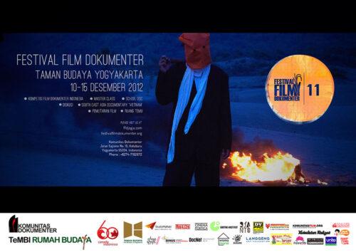 Poster Festival Film Dokumenter 2012