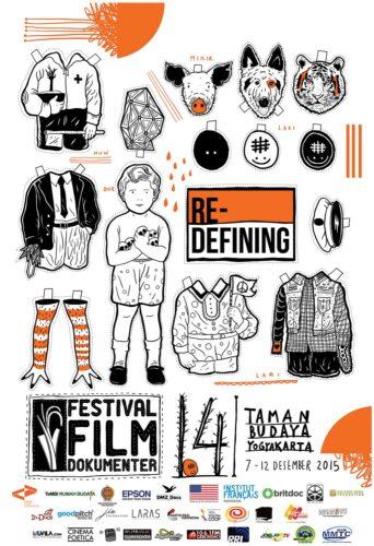 Poster Festival Film Dokumenter 2015