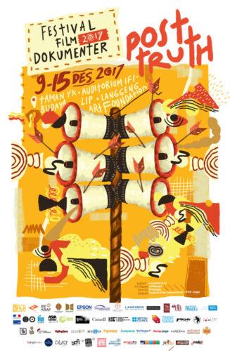 Poster Festival Film Dokumenter 2017