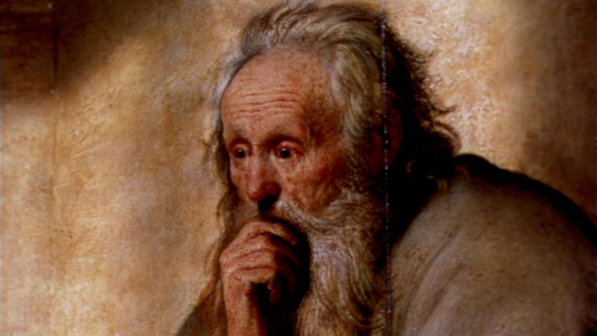 Still Film Rembrandt Painter of Man